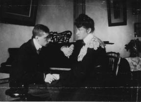 Igor et Catherine Stravinsky - Omelno - 1906