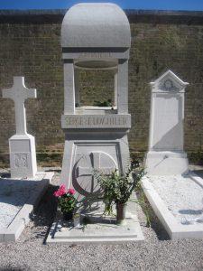 Tombe de Serge Diaghilev, Venise