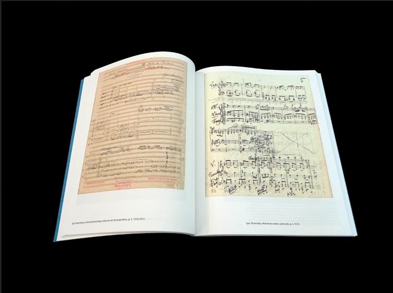 abécédaire Stravinsky partition